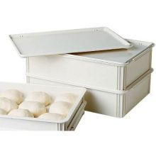 White Polypropylene Cover Only for Pizza Dough Box