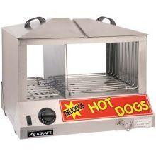 Countertop Stainless Steel Hot Dog Steamer