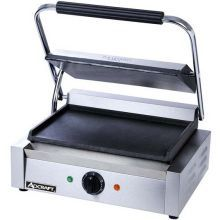 Countertop Panini Grill with Flat Plates
