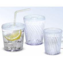 Dinex Clear Plastic Swirl Tumbler 12 Ounce