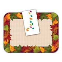 The Happenings Holiday Autumn Colors Straight Edge Tray Cover