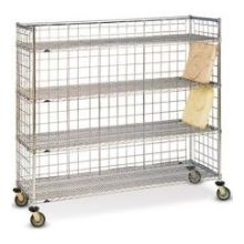 Dinex Full Size Mobile Drying Rack Only 72 x 24 x 68 inch
