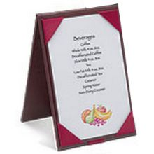 Reusable Table Tent Folder