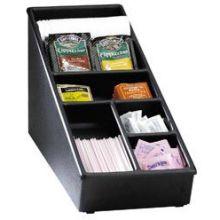 Dispense Rite NLS and WLS Black Polystyrene Organizer 1 3/8 x 8 1/2 x 23 1/8 inch