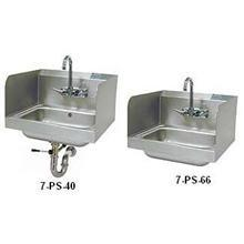 Handsink - Side Splash Unit 7 3/4 High Side 20 gauge P-Trap