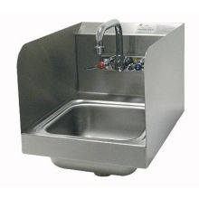 Space Saver Stainless Steel Hand Sink with Side Splash