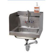 Stainless Steel Hand Sink with Side Splash