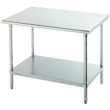 SSP Inc Stainless Steel Standard NSF Work Table X X Inch - Stainless steel work table 30 x 48