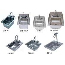One Compartment Hand Use Drop-in Sink Size 10 x 14 x 10 inch