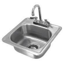 No Drip Self Rimmed Edge One Compartment Drop In Sink