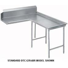Super Saver G60 Series Stainless Steel Right Clean Island Dishtable