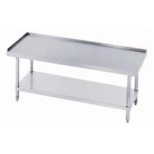 Stainless Steel Economy Equipment Stand with Galvanized Steel Leg