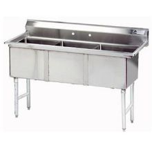 3 Compartment Fabricated Sink