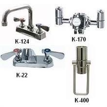Deck Mounted Extended Spout Faucet