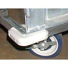 Corner Bumper for Enclosed Pan Cabinet