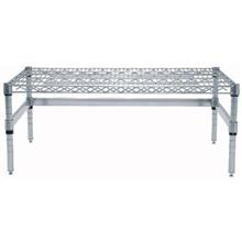 Chrome Wire Dunnage Rack