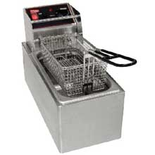 Stainless Steel Countertop Electric Fryer