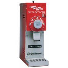 Red Retail Coffee Grinder with ETL Sanitation Listing