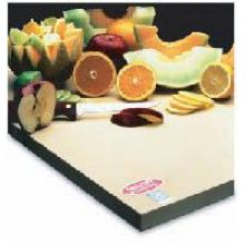 Teknor Apex Sani-Tuff Rubber Cutting Board 12 x 18 x 1 inch