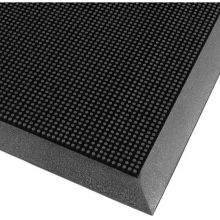 Notrax Rubber Brush Outdoor Entrance Mat 16 x 24 inch