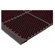 Teknor Apex Grease-Proof Red Honeycomb Anti-Fatigue Optimat, 36 x 24 inch