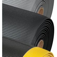 Notrax Black with Yellow Razorback Safety Mat 1 x 4 feet