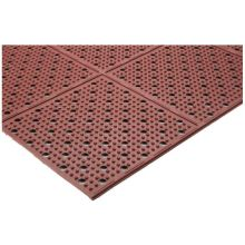 Teknor Apex Multi-Mat II Oil-Resistant Red Reversible Drainage Mat