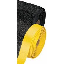 Notrax Black with Yellow Pebble Step Sof Tred Safety Mat 3 x 60 feet
