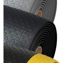 Notrax Black with Yellow Bubble Sof Tred Mat 1 x 4 feet