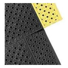 Notrax Colored Border Perforated Series Cushion Lok Safety Superior Mat 30 x 36 inch