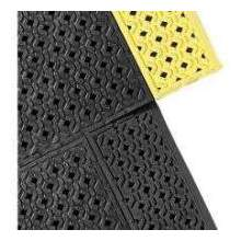 Notrax Black Border Perforated Series Cushion Lok Safety Superior Mat 30 x 36 inch