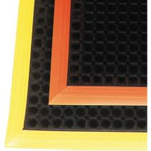 Black/Yellow Notrax Safety Stance Superior Mat 26 x 40 inch