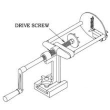 Drive Screw Only for Spiral Fry Cutter