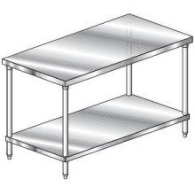 Economy Flat Top Undershelf Work Table