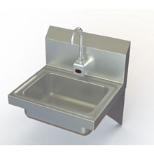 Stainless Wall Mount Electric Eye Hand Sink