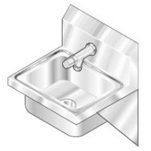 Stainless Lavatory Hand Sink
