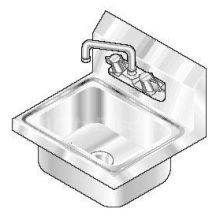 Stainless Steel Wall Mounted NSF Hand Sink