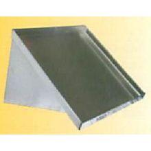 Aero 16 Gauge 304 Stainless Slanted Wall Shelf 21 x 42 x 20 inch