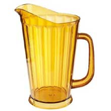 Clear Styrene Acrylonitrile Pitcher