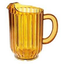 Clear Styrene Acrylonitrile Dishwasher Safe Pitcher