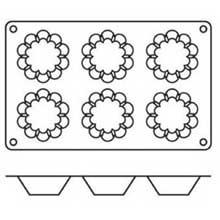 Silikomart Siliconflex Briochette Mold