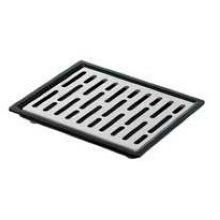 Server Countertop/Drop-In Stainless Steel Drip Tray Only - Cutout Size 6 7/8 x 5 7/8 inch
