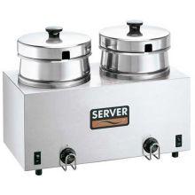 Server Twin Well Food Warmer Server 1000 Watt