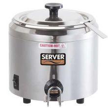 Server Stainless Steel Single Well Food Server 250 Watt