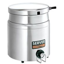 Server Stainless Steel Single Well Food Warmer Server 1500 Watt