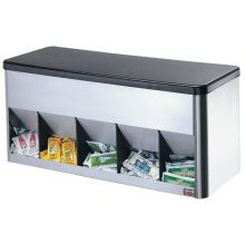Server Portion Pack Organizer Up to Five Bins 9.375 x 20.312 x 8.312 inch
