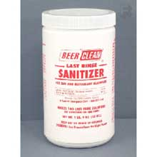 Beer Clean Last Rinse Sanitizer 25 Oz
