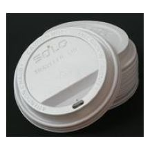 Solo White Polystyrene Traveler Lid Only Fits IC20 J7534 20 Ounce Hot Cup