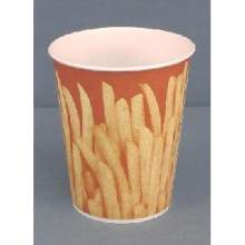 Solo Grease Resistant Paper French Fry Cup 16 Ounce
