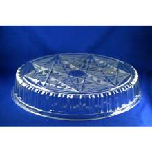 Pactiv Caterware Crystal Cut Dome Lid Only 18 inch